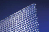 Stegplatte Polycarbonat Klar 10mm