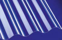 Polycarbonat Profilplatte sinus 0,8 mm