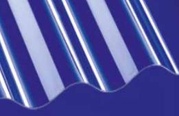 Polycarbonat Lichtplatte P5