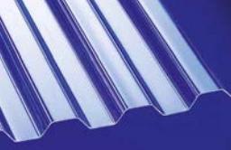 Polycarbonat Lichtplatte Trapezprofil