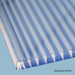 3500 x 980 x 16 mm 980 mm Breite Polycarbonat Stegplatten Hohlkammerplatten klar 16 mm