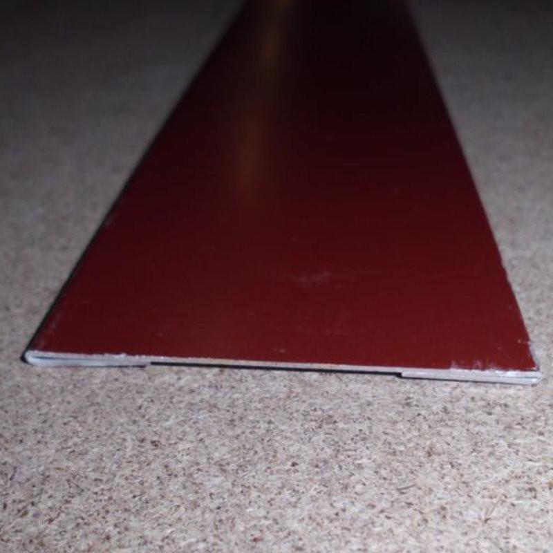 giebelblende 150 mm breit verz stahl 25 my polyesterlack. Black Bedroom Furniture Sets. Home Design Ideas