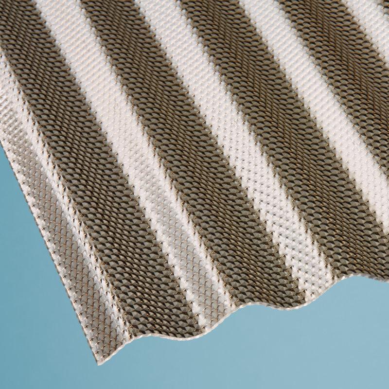 lichtplatte polycarbonat sinus 76 18 wabenstruktur bronze g nstig im onlineshop bestellen. Black Bedroom Furniture Sets. Home Design Ideas